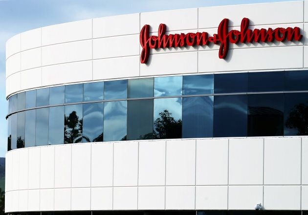 A Johnson & Johnson building is shown in Irvine, Calif. on Jan. 24,