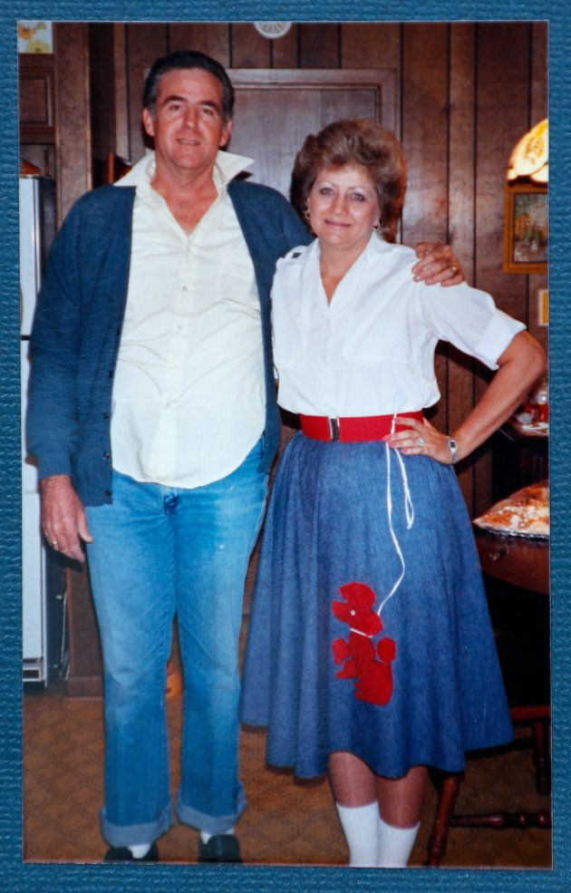 Darlene Coker is shown with her husband Roy in this undated handout family
