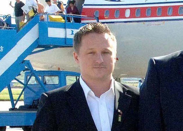 A photo released by the official North Korean Central News Agency (KCNA) shows Canadian businessman Michael...