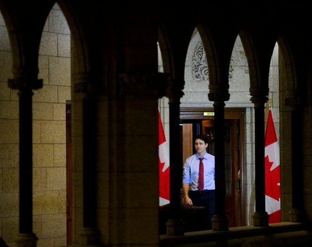 PM Trudeau in Ottawa on Dec. 14,
