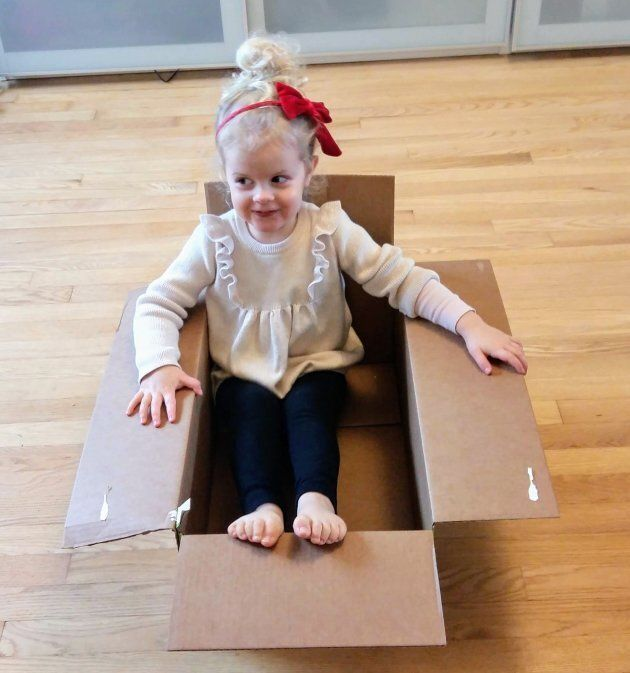 My girl and her rocket ship. Many parents tell their girls to shoot for the moon, but during the holidays...