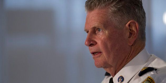 Toronto Police Superintendent Ron Taverner speaks to media in a 2012 file photo. Taverner has rescinded...