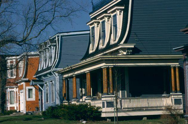 Traditional houses in Saint John,