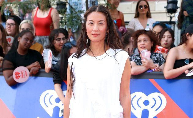 Elaine Lui at the 2018 iHeartRADIO MuchMusic Video Awards in
