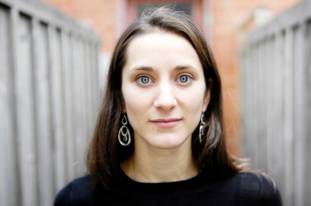 Playwright Hannah Moscovitch photographed Toronto.