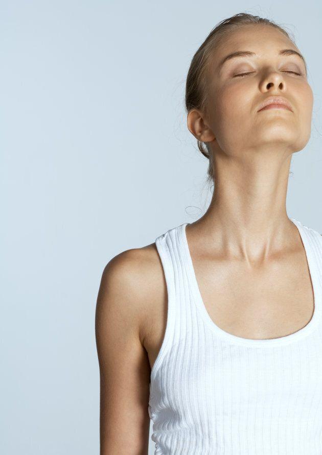Deep breathing can help