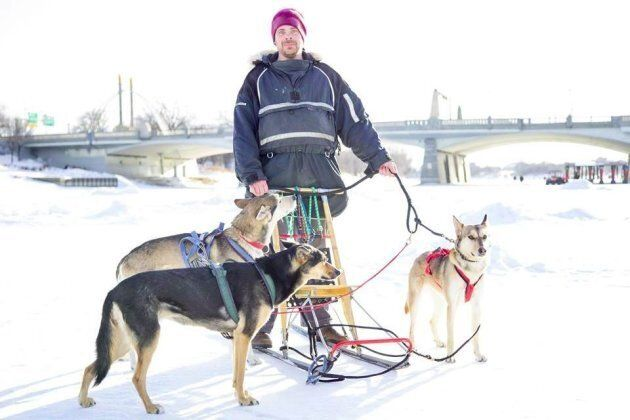 Sidney is raising funds to develop an after school dog sled program for the youth of the Bloodvein First...