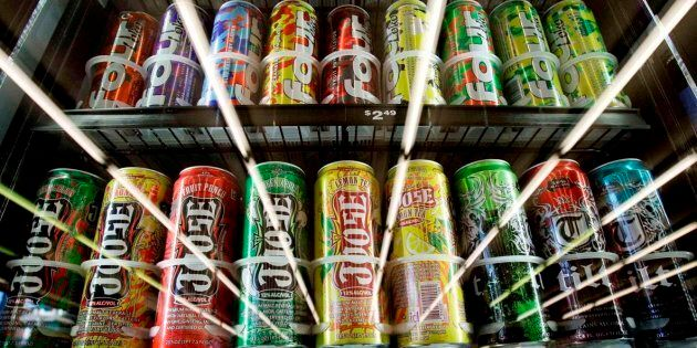 Health Canada is taking measures to crack down on sugary high-alcohol drinks like the one consumed by...
