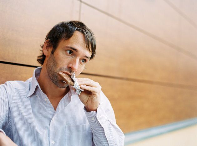 Being tired or stressed can influence your cravings.