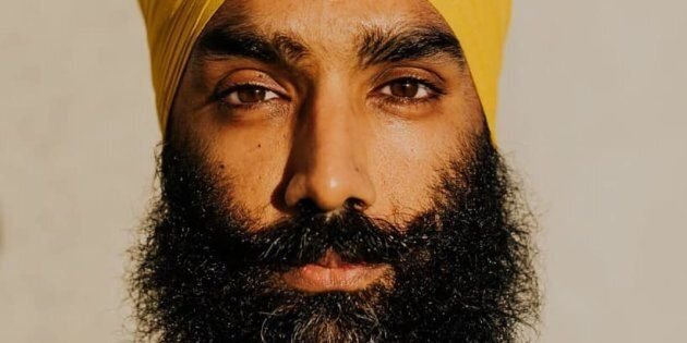 Gurratan Singh, Ontario MPP and younger brother of federal NDP leader Jagmeet Singh, poses in a Facebook