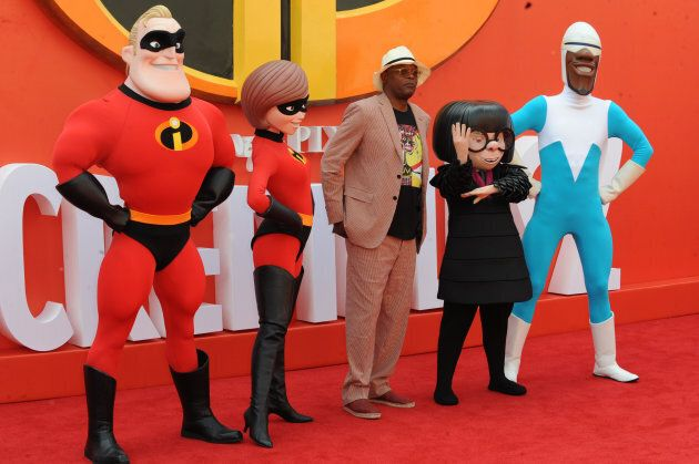 """Incredibles 2"" premieres in the UK."