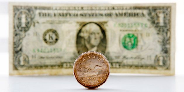 The Canadian dollar weakened to a 19-month low against its U.S. counterpart on