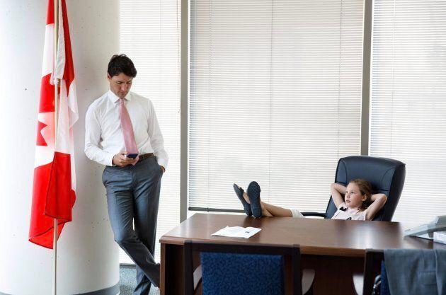 Prime Minister Justin Trudeau's Facebook cover photo.