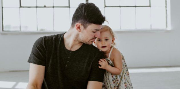 Montreal Canadiens goaltender Carey Price and daughter Liv, 2.