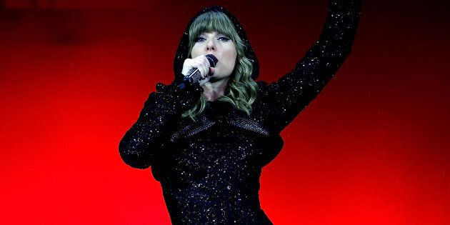 Taylor Swift performs at ANZ Stadium on November 2, 2018 in Sydney,