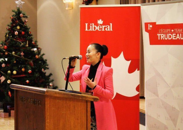 The Liberals have chosen Karen Wang to run in the Burnaby South