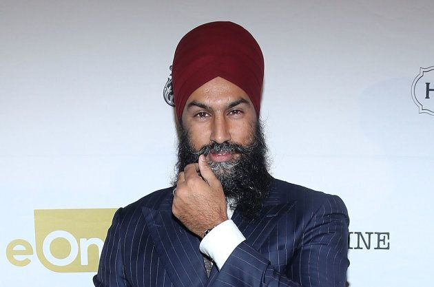 Jagmeet Singh attends eOne Best of the Fest TIFF 2018 Celebration at Assembly Chef's Hall on Sept. 7,