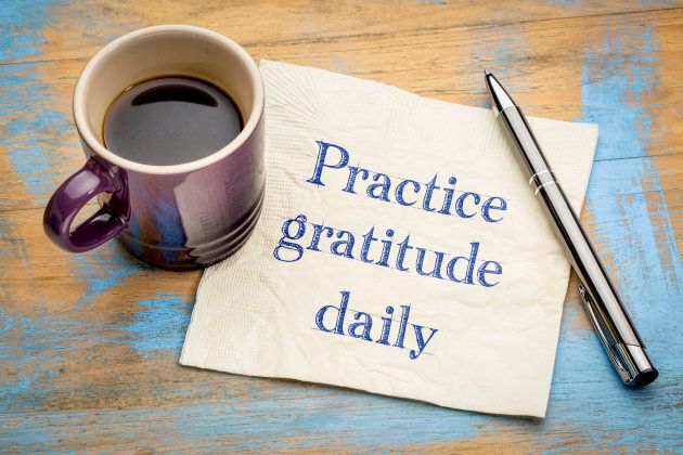 A daily gratitude practice will help you feel good about yourself and your day.
