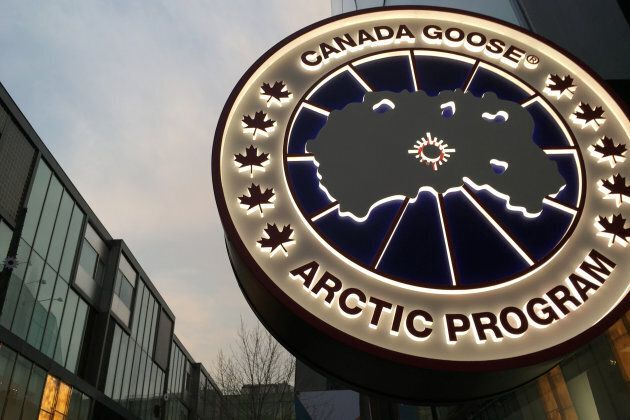 5ef0db533e4 Canada Goose's 1st Store In China A Big Hit Despite Diplomatic ...