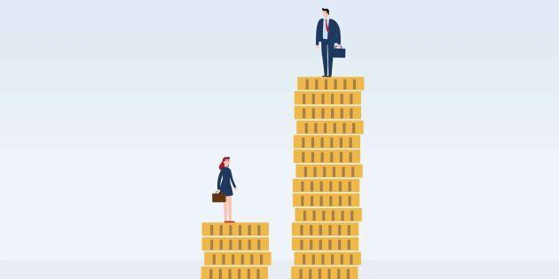 Canada's Gender Pay Gap Means Male Execs Make Almost $1M More Than Women In Similar Jobs: