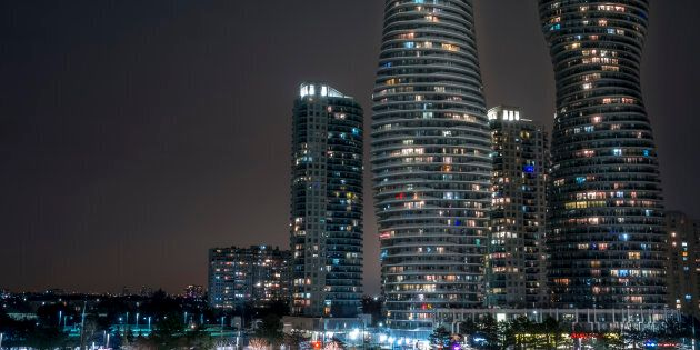 The Absolute Towers, a condo complex in Mississauga, Ont. The Greater Toronto housing market has clocked...
