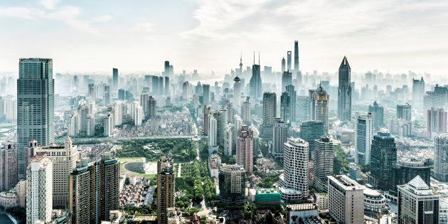 Shanghai's financial district. The city's housing market has slowed considerably, following government efforts to reign in runaway house price growth.