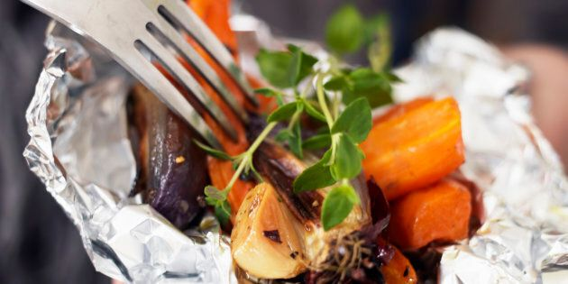 Foil pack dinners are rising in popularity.