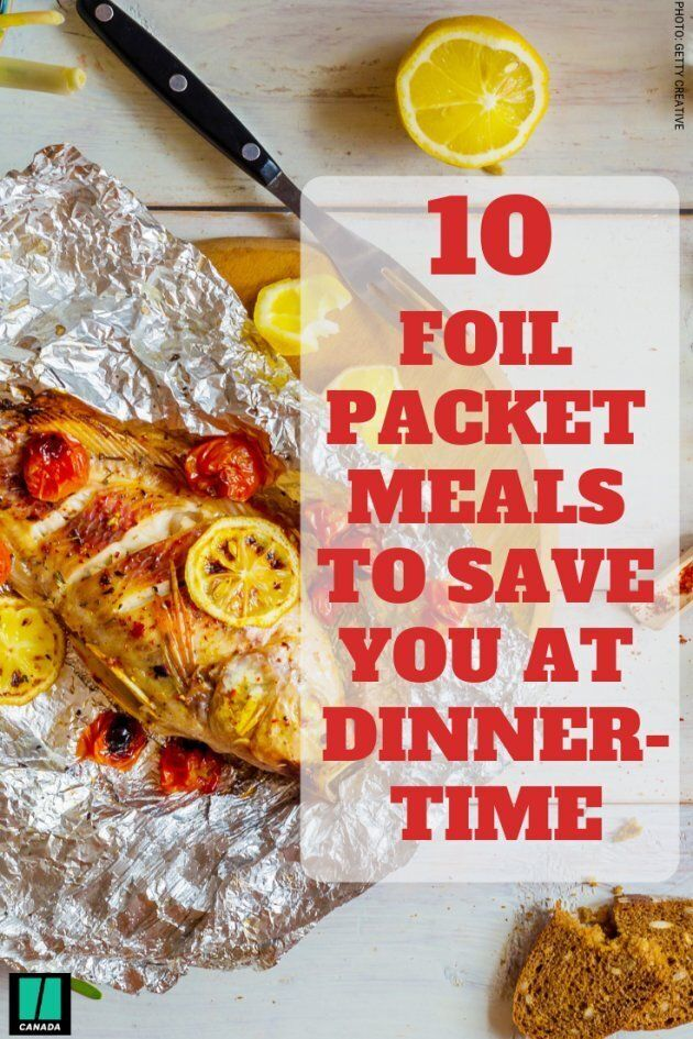 Foilet packet meal suggestions