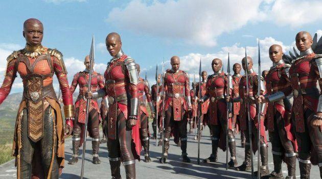 Wakanda and strong black female characters