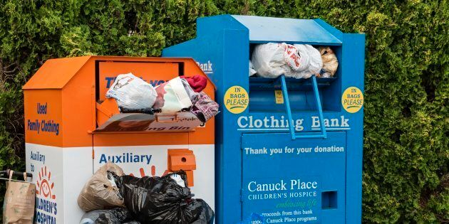 Woman Dies After Becoming Trapped In Toronto Clothing Donation