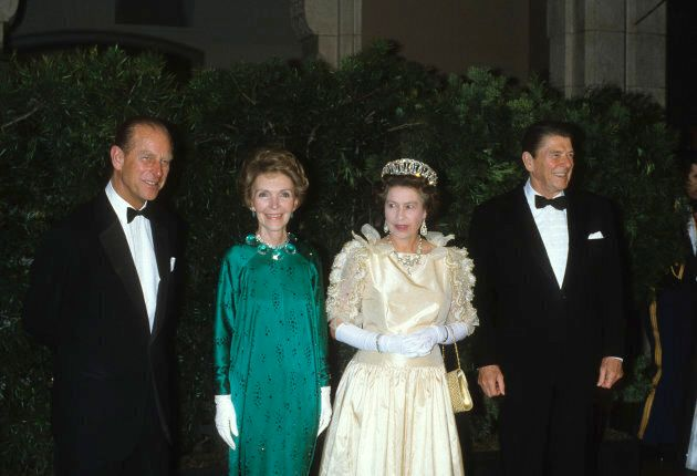 80s excess takes the monarchy, in one of the few photos of Queen Elizabeth that seems regrettably dated....