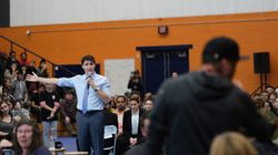 'You're A Liar And A Weak Leader,' Trudeau Told At Chaotic B.C. Town