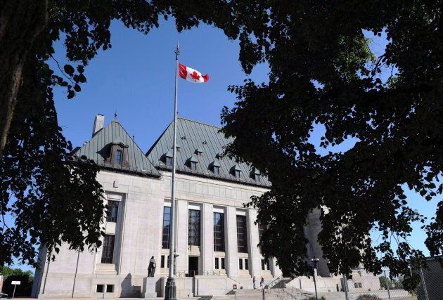 File photo of the Supreme Court of Canada in Ottawa on July 10,