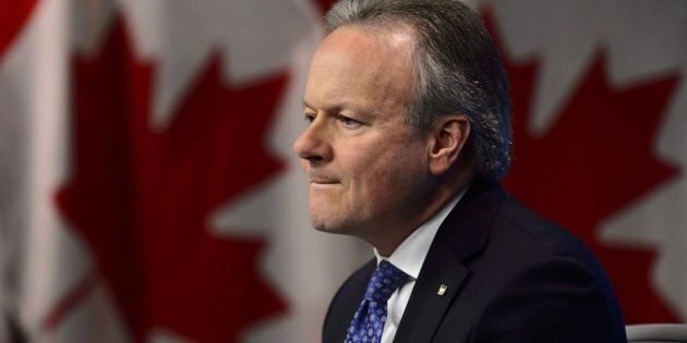 Bank of Canada Governor Stephen Poloz holds a press conference at the Bank of Canada in Ottawa, Wed....