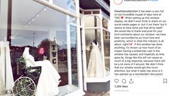 ▶️Bridal Store Applauded For Displaying Mannequin In