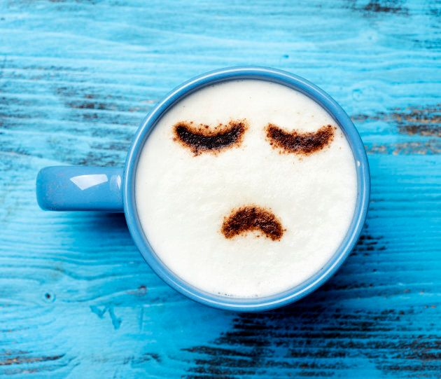 Is this latte half-happy or