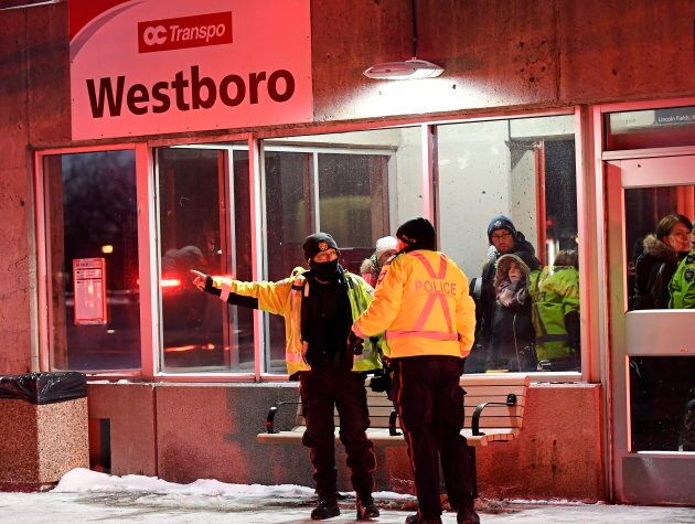 Buses are being detoured away from Westboro station in Ottawa after a crash left several people dead...