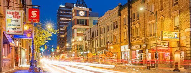 Richmond Street in downtown