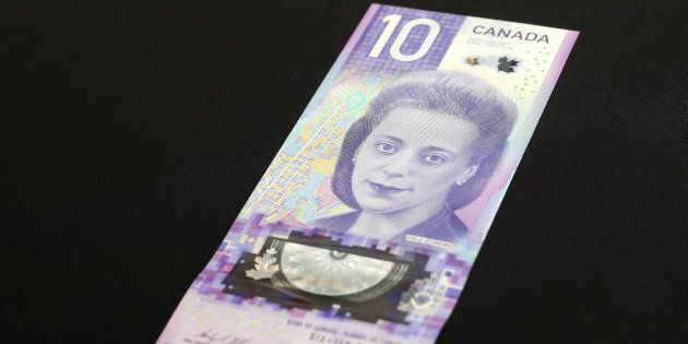Canada's new $10 banknote entered circulation on Nov. 19, 2018.