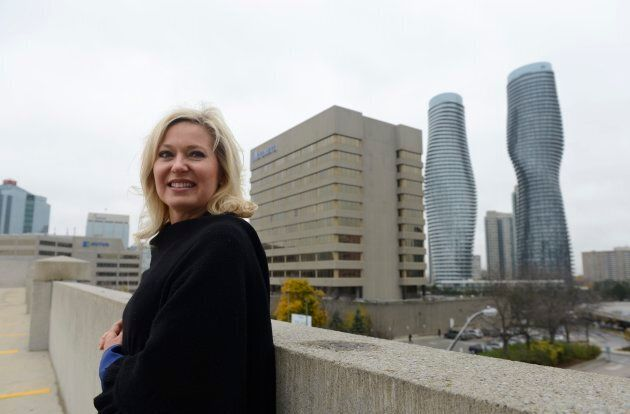 Mayor Bonnie Crombie is seen in Mississauga, Ont. in