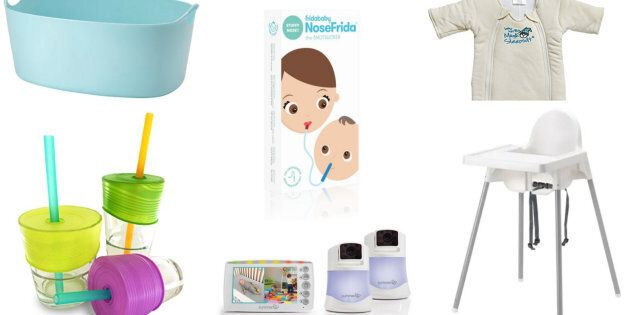 Here are 30 parent-tested and approved baby items.