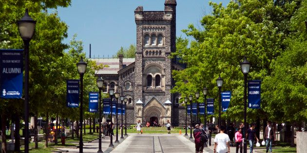 The University of Toronto's St. George