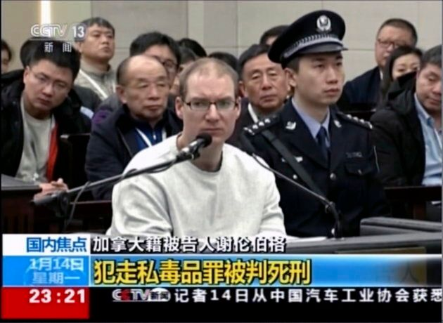 China has sentenced Canadian Robert Lloyd Schellenberg to death in a retrial for a drug-smuggling