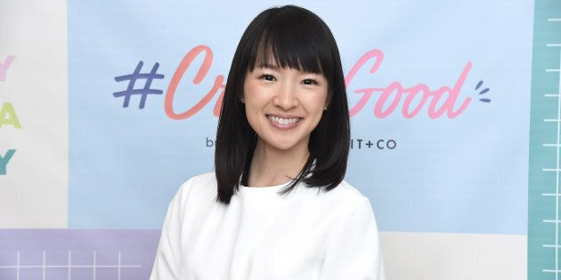 Organizing consultant and author Marie Kondo in New York City on Oct. 18,