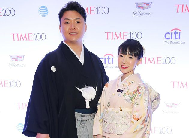 Marie Kondo attends the Time 100 gala in New York City on April 26, 2016.
