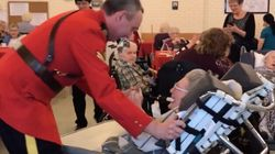 RCMP Officer Takes 100-Year-Old Birthday Gal For Dance Floor