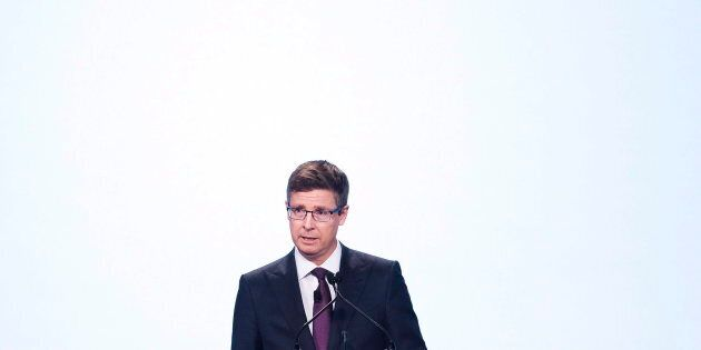 Loblaw Companies chairman and CEO Galen G. Weston at the company's annual general meeting in Toronto on May 3, 2018.