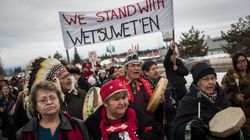 Some Elected Wet'suwet'en Councils Will Allow Pipeline Through