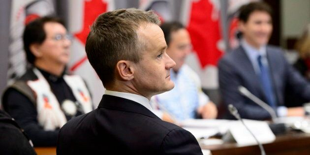 Minister of Indigenous Services Seamus O'Regan in Ottawa on Jan. 14,