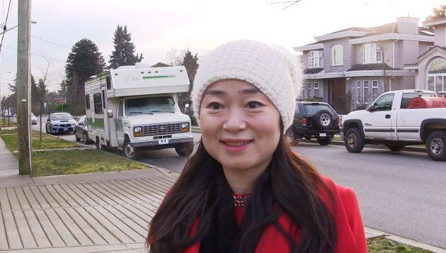 Former Burnaby South Liberal candidate Karen Wang speaks during an interview in Burnaby, B.C., on Jan. 15, 2019.